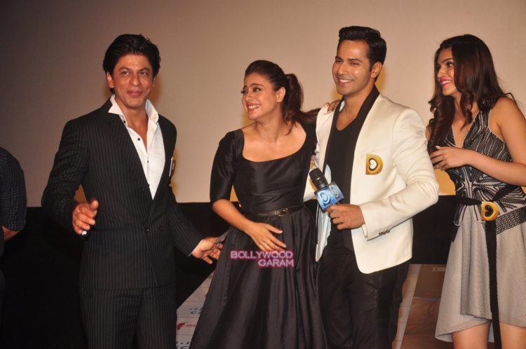 dilwale trailer launch9