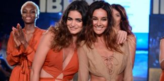 Gionee India Beach Fashion Week Photos –  Shibani Dandekar sizzles the ramp on day 2