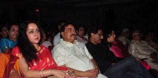 Hema Malini and Esha Deol at Jaya Smriti classical dance event