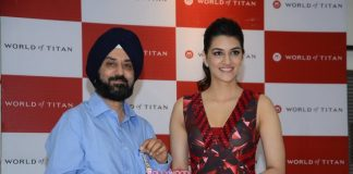 Kriti Sanon at World of Titan store launch event