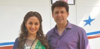 Madhuri Dixit shoots for upcoming dance app