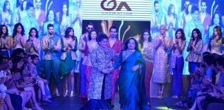 Gionee India Beach Fashion Week Photos –  Manju Todi showcases royal collection on day 2
