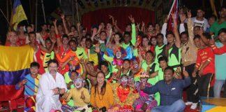 Kunal Kapoor and Sanjana Kapoor judge and enjoying judging Rambo Circus