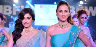Gionee India Beach Fashion Week Photos –  Adah Sharma walks the ramp for Shilpa Reddy