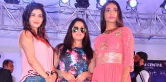 Sana Khan and Mahima Chaudhary launch Town centre real estate project