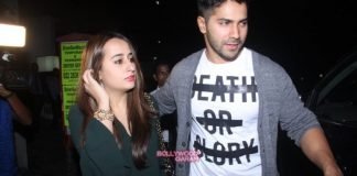 Varun Dhawan and Natasha Dalal catch up on a dinner date