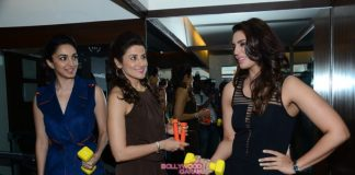 Huma Qureshi, Kiara Advani and Zaheer Khan at Yasmin Karachiwala's gym opening – Photos