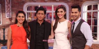 Dilwale actors promote on Comedy Nights With Kapil – Photos