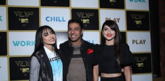 Sunny Leone and Neha Dhupia at FLYP@MTV launch event