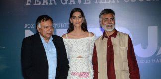 Sonam Kapoor gets emotional at Neerja trailer launch
