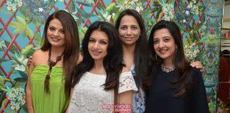 Bhagyashree, Rouble Nagi and Deeksha Seth at Mitaali Vohra's store launch – Photos