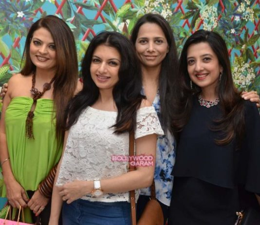 Bhagyashree, Rouble Nagi and Deeksha Seth at Mitaali Vohra's store launch – Photos