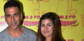 Akshay Kumar and Nimrat Kaur promote Airlift at Radio Mirchi
