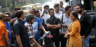 Amitabh Bachchan, Vidya Balan and Nawazuddin Siddiqui shoot in Kolkata