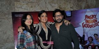 Arshad Warsi and Maria Goretti catch special screening of Angry Indian Goddesses – Photos