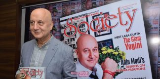 Anupam Kher launches Society Magazine