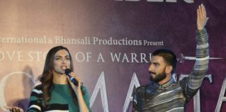 Deepika Padukone and Ranveer Singh promote Bajirao Mastani in Gurgaon