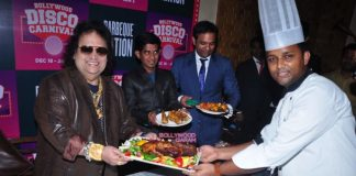 Bappi Lahiri launches Barbeque Nation's Bollywood Disco Carnival