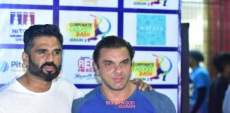 Sohail Khan, Suniel Shetty and others in a sporty mood