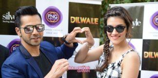 Shahrukh Khan, Kajol, Varun Dhawan and Kriti Sanon unveil Dilwale bracelet