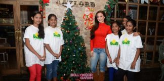 Elli Avram celebrates Christmas with Smile Foundation children