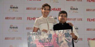 Sonam Kapoor launches Filmfare's Glamfare issue