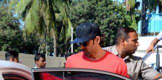 Hrithik Roshan watches movie with kids
