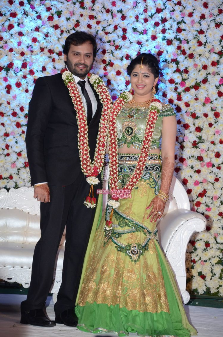 jaya prada son wedding1