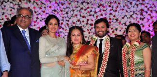Sridevi graces Jaya Prada's son wedding reception – Photos