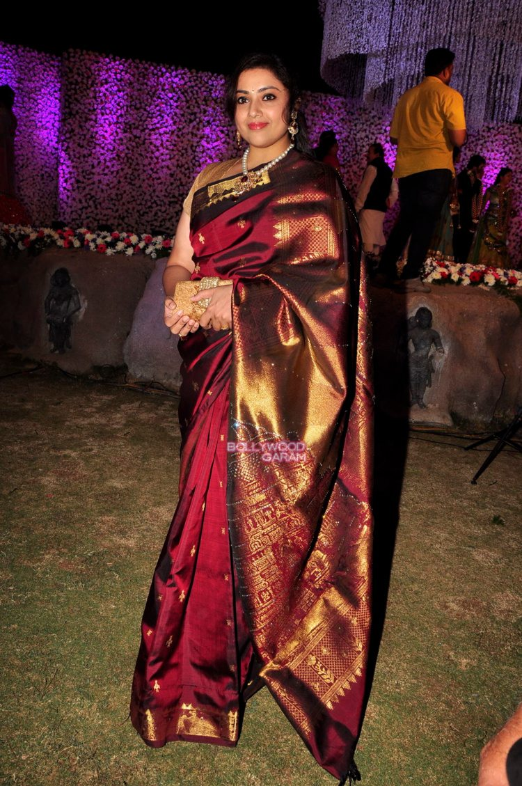 jaya prada son wedding8