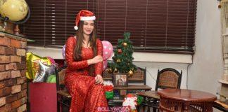 Kainaat Arora celebrates Christmas
