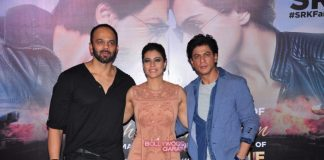 Shahrukh Khan, Kajol and Rohit Shetty promote Dilwale