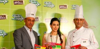 Pretty Karisma Kapoor at McCains event