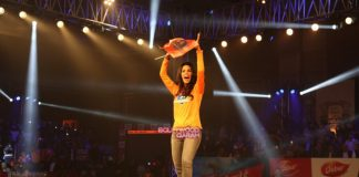 Mallika Sherawat supports Haryana Hammers at Pro-Wrestling League