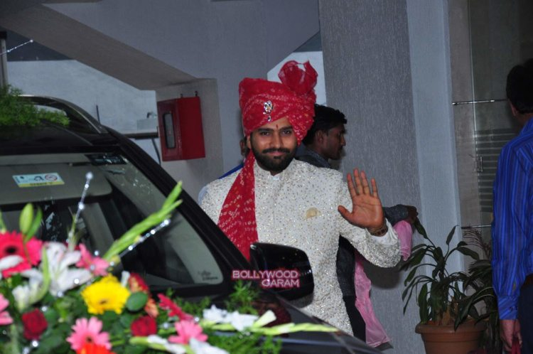 rohit sharma wedding3