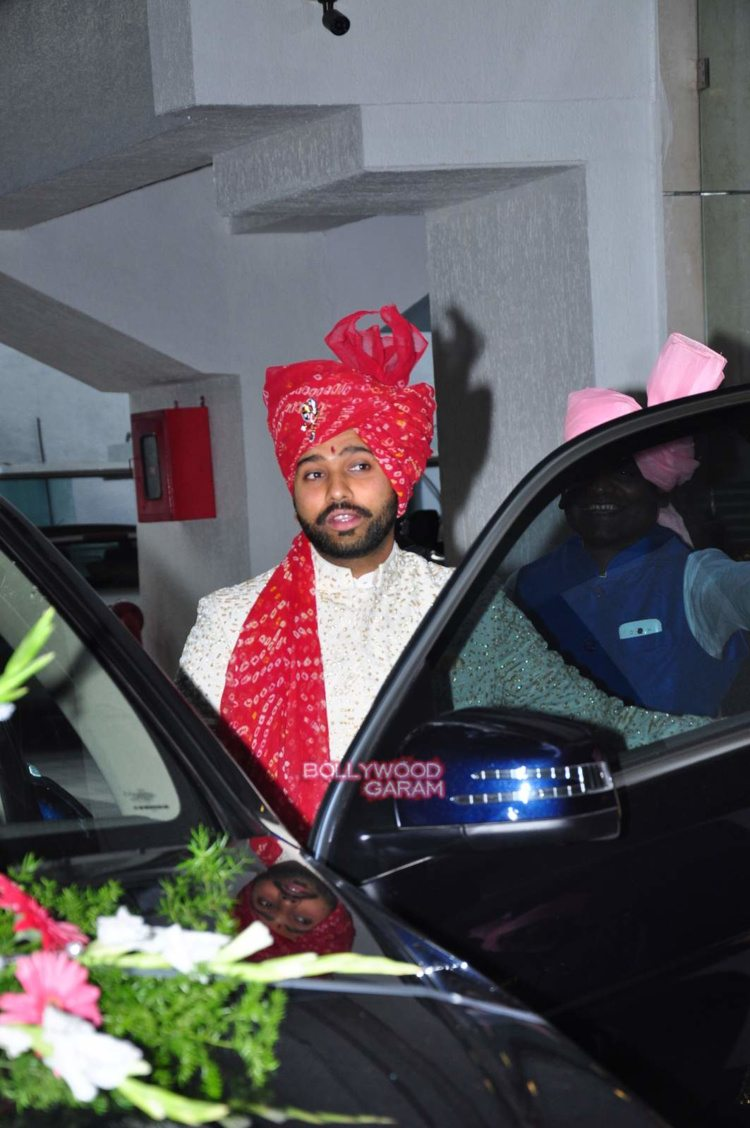 rohit sharma wedding8
