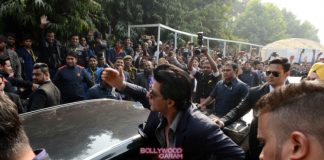 Shahrukh Khan at Building Materials exhibition