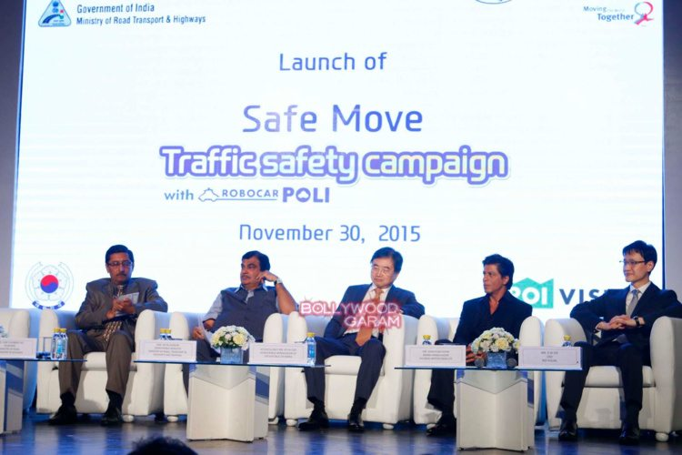 shahrukh Khan road safety4