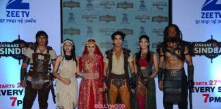TV actors launch Jaabaaz Sindbad show on Zee TV
