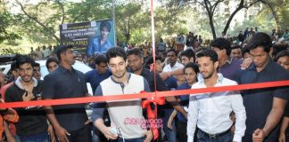 Sooraj Pancholi inaugurates Khwaish college festival