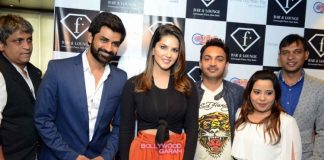 Sunny Leone at F Bar Lounge event