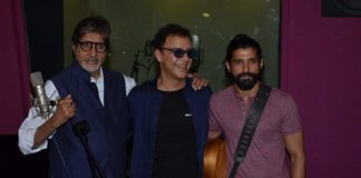 Farhan Akhtar and Amitabh Bachchan record for Wazir song
