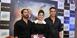 Akshay Kumar and Nimrat Kaur host press conference in Delhi to promote Airlift – Photos