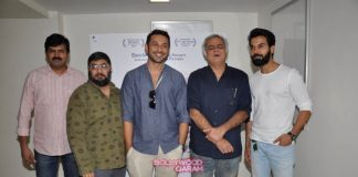 Bobby Deol, Sunny Deol and Karan Johar at Aligarh movie special screening
