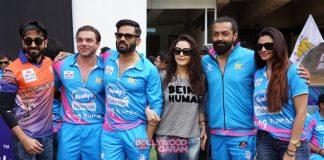 Zarine Khan, Preity Zinta and Kriti Sanon enjoy CCL match at Bengaluru – Photos