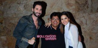 Sunny Leone and Vir Das catch special screening of Mastizaade