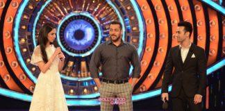 Divya Khosla and Pulkit Samrat promote Sanam Re on Bigg Boss