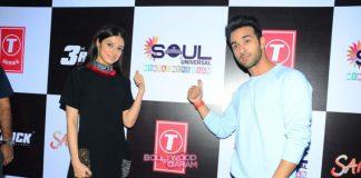 Pulkit Samrat and Divya Khosla promote Sanam Re at College fest