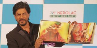 Shahrukh Khan launches new Nerolac range in Kolkata