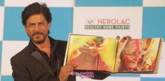 Shahrukh Khan launches new Nerolac range in Kolkata
